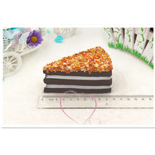 1piece chocolate nut cake,artificial kitchen food toys,Christmas birthday party decorations wedding sweet gifts early education