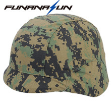 Military M88 Helmet Cover Safety Tactical Paintball Elastic SWAT PASGT Helmet Cover Protection Cs Game Combat Gear