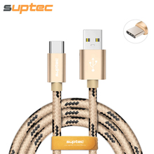 SUPTEC USB Type C Cable USB Type-C Fast Charging Data Sync USB C Charger Cable for Huawei Samsung S8 P10 Xiaomi Mi5 6 Mi4C MIX
