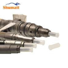 Diesel Common Rail Spare Parts Fuel Injector Nozzle Size 6.5 Plastic Anti-fouling Dust-proof Protection Cap Jacket 10pcs/lot