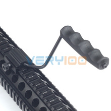 New Rifle Flat Top Folding Carry Handle For Picatinny / Weaver Rail 20mm M60 Style(China)