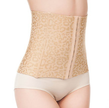 Girdles Body Shapers For Women Stomach Wrap Leopard Waist Trainer Corsets Belt Slimming Tummy Black and Beige Firm Body Shaper