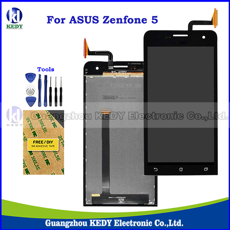 New Original LCD Display Digitizer Assembly For Asus Zenfone 5 A500CG A501CG T00J T00F 5.0 LCD Touch Screen Spare Parts + Tools<br><br>Aliexpress