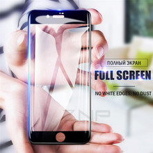 Buy ZNP 5D Full Cover Edge Tempered Glass iPhone 7 8 6 Plus X Screen Protector iPhone X 6 6s 7 8 Plus Film Protection Glass for $2.95 in AliExpress store