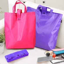 Foldable shopping bags supermarket Oxford cloth handbag shopping bags large portable bag
