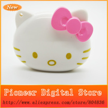 50 pcs/lot 100% Brand New High Quality Mini Fashion Hello Kitty Shaped Card Reader MP3 Music Player Support TF Card