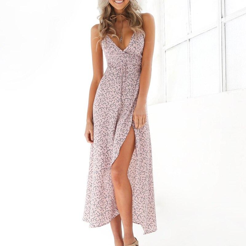 Väikese mustriga suvine kleit