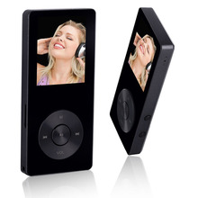 2017 Original HiFi MP4 Player with Speaker Metal APE/FLAC/WAV High Sound Quality 8GB Entry-level Lossless Music Player with FM