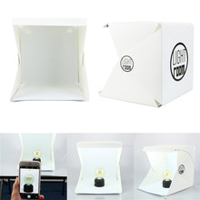 LED Light Room Photo Studio Photography Lighting Tent Kit Backdrop Cube Mini Box Jul28 Professional Factory price Drop Shipping