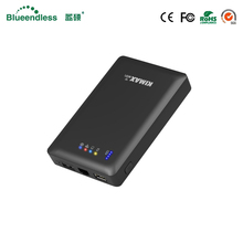Blueendless plastic external hard drive case sata 2.5 inch USB 3.0 hhd to 2TB support wifi router box and power bank hdd box(China)