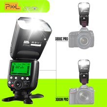 Buy PIXEL X800C X800N Pro LCD Screen Display Wireless Control Flash Speedlite TTL HSS Speed Light Canon Nikon Digital Cameras Technology Co, Ltd Wholesale Store) for $126.22 in AliExpress store