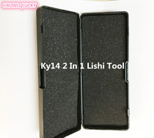 HXLIWLQLUCKY Car Tool Ky14 2 In 1 Lishi Tool For Laser Key Free Shipping(China)