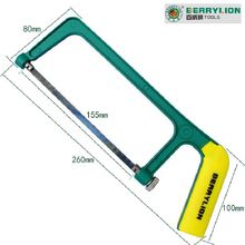 260x80x155mm Woodworking Steel Saw Blade Cutting Hand Tools Saw Hacksaw Frame Hand Hack Saw Blade Mini Hand Saw