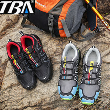 TBA  speed man cross outdoors hiking shoes stability anti slip shoes men shoes breathable hiking climbing, fishing camping
