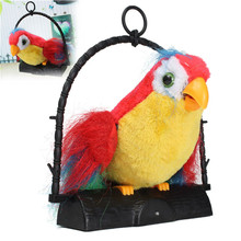 New Arrival 22x19.8x5.7cm Novelty Talking Parrot Imitates And Repeats What You Say Kids Gift Funny Toy Kids Electronic Toys