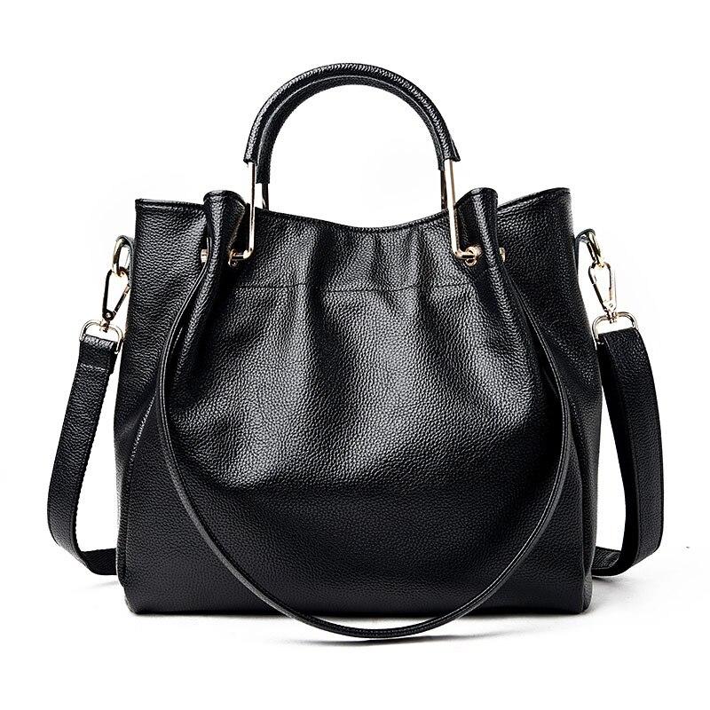 Luxury Handbags Women Bags Designer Genuine Leather Bag Female Top-Handle Bags Women Tote Bags For Women 2017 Bolsas Feminina<br>