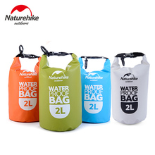 Naturehike New Waterproof Bag Ultralight 2L Small Rafting Bag Dry Wet Separation Sack Kayaking Canoeing Swimming Bag NH15S222-D(China)