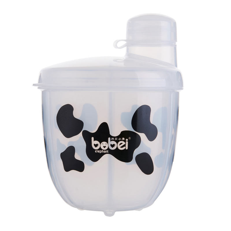 Baby Feeding Box Portable Milk Powder Formula Dispenser Baby Kids Toddler Food Containers Storage White BM88