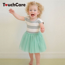 Clearance Striped Dress Girl Clothes Summer Dress Tutu Princess Party Dress Solf Cotton Toddler Kids Girls Dresses Costume(China)