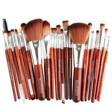 MAANGE 22pcs brushes of different sizes Cosmetic Makeup Brush Blusher Eye Shadow Brushes Set Kit pinceis maquiagem Anne