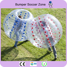Free Shipping 1.5m Inflatable Bubble Soccer Ball Bumper Bubble Ball Zorb Ball Bubble Football(China)