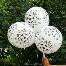 12inch quality thicken 2.8g latex balloon football balloon soccer printing balloon kids toys 50pcs/lot