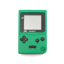 "Kong Feng GB Boy Classic Pocket Handheld Game Console 2.45"" Game Player with Black and White display screen Green Color"