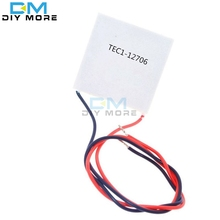 TEC1-12706 12706 TEC Thermoelectric Cooler Peltier 12V New of semiconductor refrigeration TEC112706 Heatsink Plate Module(China)