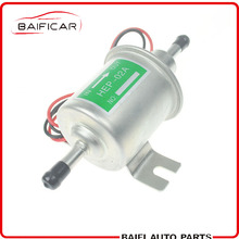 Baificar Universal Diesel Petrol Gasoline 12V Electric Fuel Pump HEP-02A Low Pressure For Most Car Carburetor Motorcycle ATV(China)