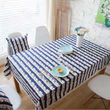 Big Discount 1PC Snow House Decorative Linen Cotton Lace Edge Table Cloth For Hotel Outdoor Party Home Dinner Table Cover(China)