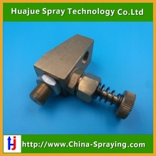 Air atomizing nozzle,adjustable air atomizing spray nozzle,Brass siphon air atomizer nozzle(China)