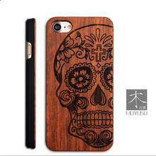 New Unique 5s Bamboo Wood Hard PC Back Cover Case For Apple iPhone 5S 5 SE embossed pattern Wooden Cases