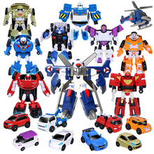 13 styles Young Toys Korea Cartoon Deformation Robot Tobot Brothers Anime Tobot Quartran Toys,Kids Toys Deformation Car Juguetes