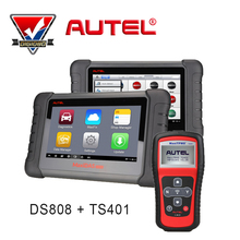 Autel MaxiDAS DS808 + MaxiTPMS TS401 AUTOMOTIVE DIAGNOSTIC & ANALYSIS SYSTEM Universal Car Diagnostic tool ALL electronic system