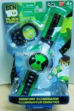 TraVelMall BEN 10 Kids Children Projector Watch Alien Force OMNITRIX TraVelMall for kdis gift