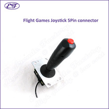 Free shipping Professional Arcade Stick Fight Games Handle Joystick 5p Interface Arcade Flight Games Joystick For Flighting Game