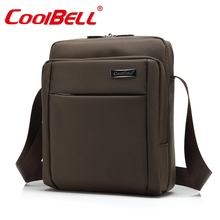 Cool Bell 10 10.6 inch Tablet Laptop Bag for iPad 2/3 /4 Air 2/3 Men Women Shoulder Messenger Bag Small Leisure Crossbody Bag