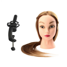 Female Dummy Training Head Hair Styling Long Hair Hairdressing Training Head Model Professional Hair Styling Head with Clamp(China)