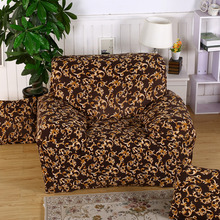 Sitting Room fashion flower Dyed Fabric Couch Cover Big Elasticity slipcover  Anti-fouling Washable furniture cover 23 Colors