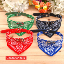 5 colours Lovely Pet Dog Scarf Collar Adjustable Puppy Bandana Quality Pet Cat Tie Collar Goods for pets