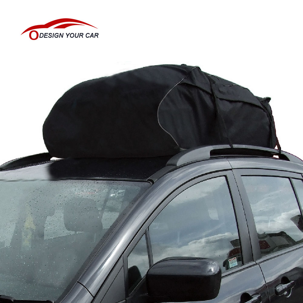 Universal Car Roof Top Bag Rack Cargo Carrier Luggage Storage Travel Waterproof Touring SUV Van(China)