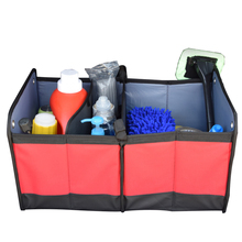 Car Trunk Organizer Food Toys Storage Container Car-styling Stowing Tidying Accessories Supplies Gear Items Stuff Products