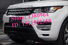 Silver front grille mesh grill Suitable for Land Rover Range Rover Sport 2010 2011 2012