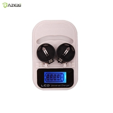 3.6V Button Battery Charger, With LCD display/ USB interface US/ EU plug  rechargeable LIR2032 LIR2025 LIR2016
