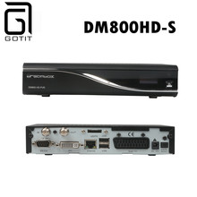 Best Satellite Receiver Hd DM800HD-S with Fan 800HD PVR DVB-S Satellite Receiver Hd Linux System 400MHz Enigma 2 Free Shipping