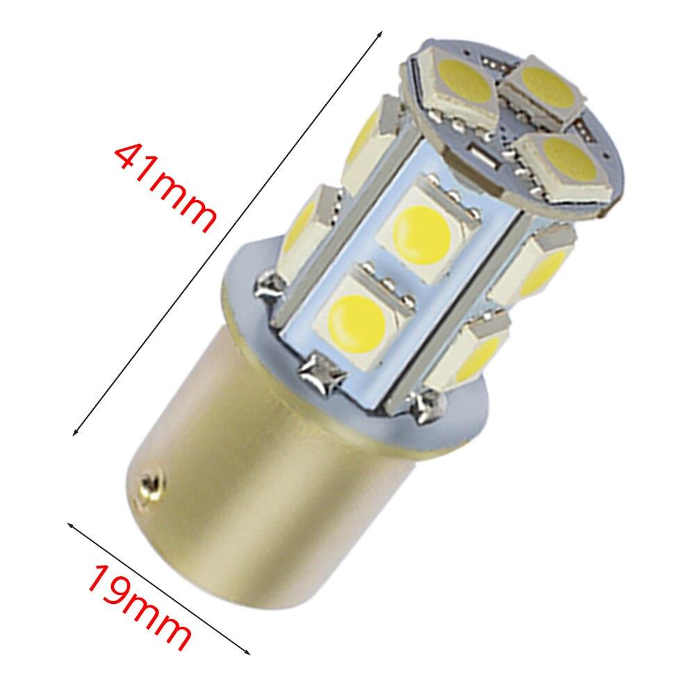 1156 BA15S 1157 BAY15D P21W BA15D 13Led 5050 Car Led Turn Parking Signal Lights Brake Tail Lamps Auto Rear Reverse Bulbs DC 12V (3)