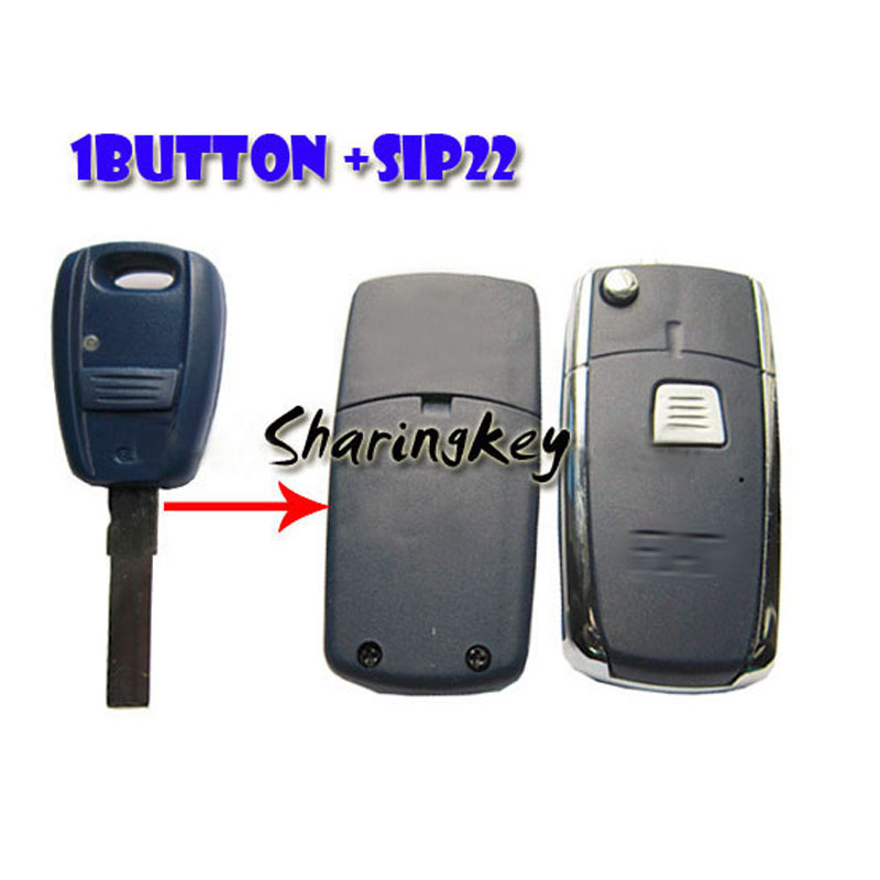 Remodeling Flip Shell Case For Bravo 1 Button Remote Key SIP22 Blade(China (Mainland))