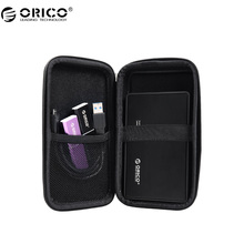 ORICO PHE-25 2.5 Inch External Hard Drive Carrying Case Electronics Accessories Travel Organizer Storage Bag - Black(China)