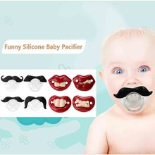 Safety Funny Baby Products  Silicone Baby Pacifier Dummy Nipple Teether Soother Toddler Pacy Orthodontic Teat Infant Cute Gift