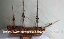 NIDALE Model Scale 1/50 1776 UK Classic wooden sailboat Royal Navy DRUID Warship SC Model kit(China)